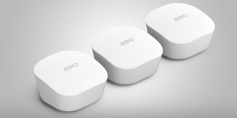Amazon presenta su sistema sistema eero mesh WiFi en México