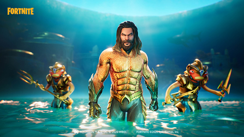 Aquaman Fortnite