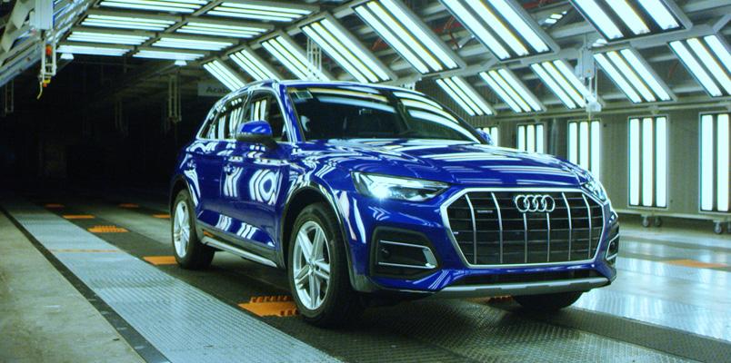 El nuevo Audi Q5 inicia producción el San José Chiapa, Puebla