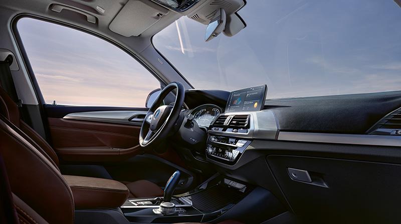 BMW iX3 2021 interior