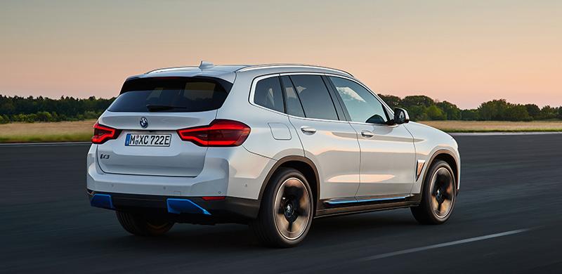 BMW iX3 2021 trasero