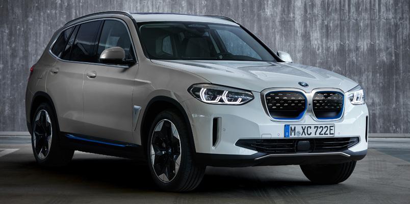 BMW iX3 se presenta con una autonomía de 460 km y 286 hp