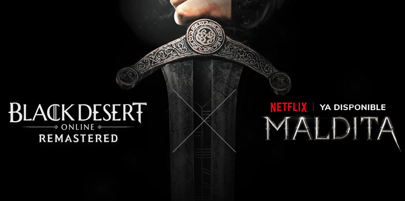 Black Desert incluirá contenido de Maldita, la serie de Netflix