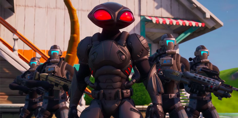 Llegan Aquaman y Black Manta a Fortnite, así los obtienes