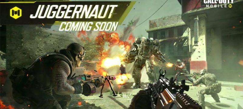 Call of Duty Mobile Juggernaut