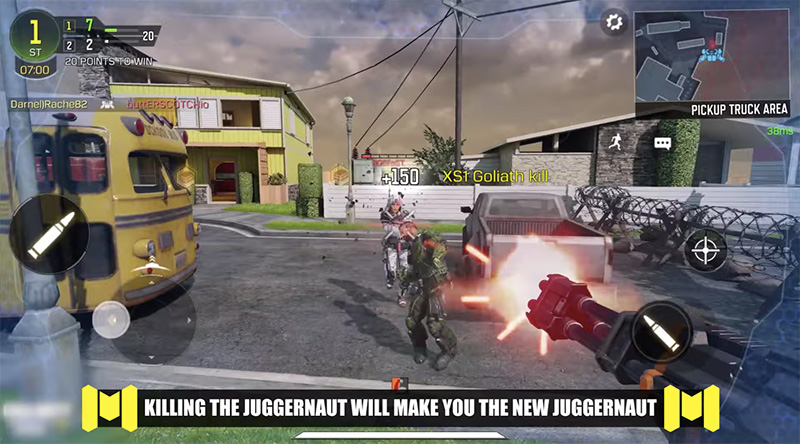 Call of Duty Mobile Modo Juggernaut