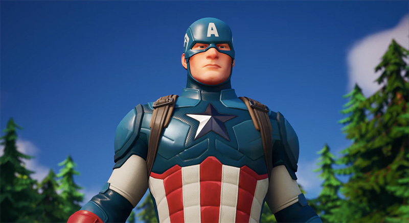 Capitan America Fortnite