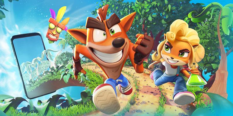 Crash Bandicoot tendrá juego para dispositivos móviles
