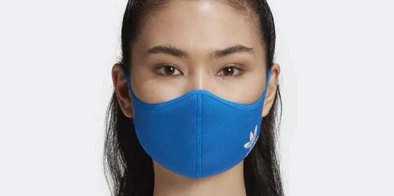 Cubiertas faciales adidas