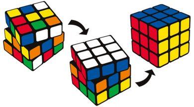 Cubo Rubik 40 aniversario solucion