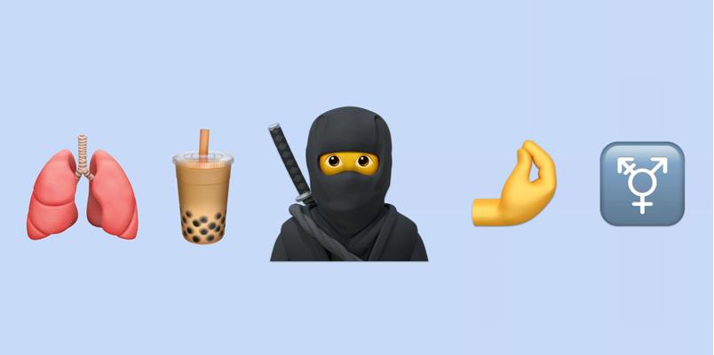 Estos son algunos de los nuevos emojis que tendrá iOS 14