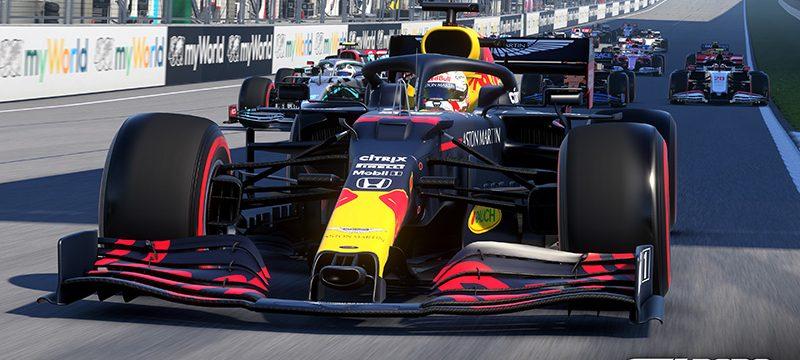 F1 2020 RedBull Max Verstappen
