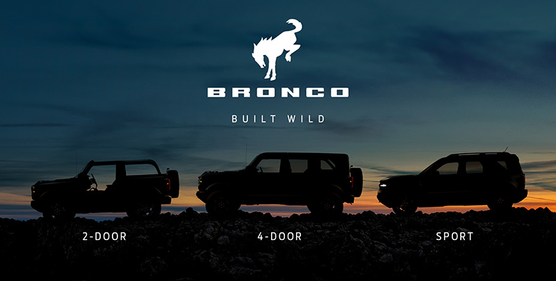 Ford Bronco 2021 modelos