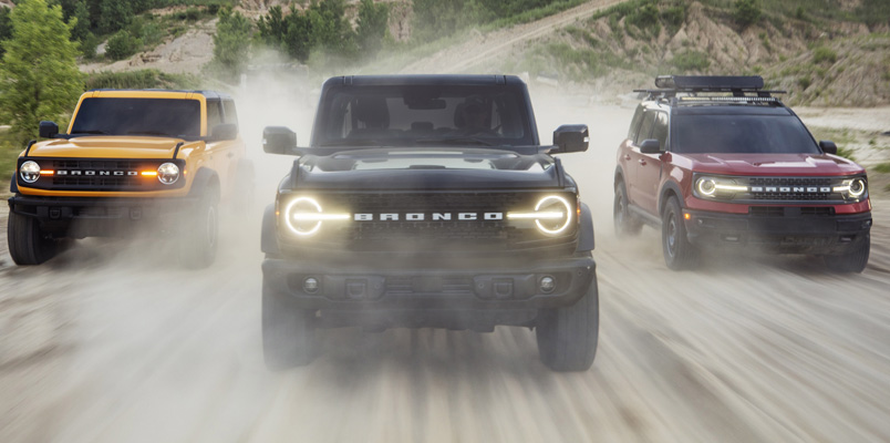 Ford Bronco 2021 tecnologias