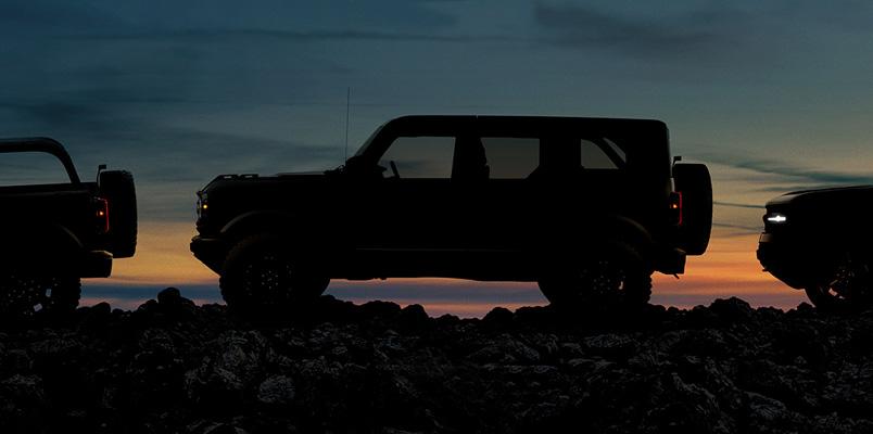 Estas serán las tres versiones que tendrá el nuevo Ford Bronco