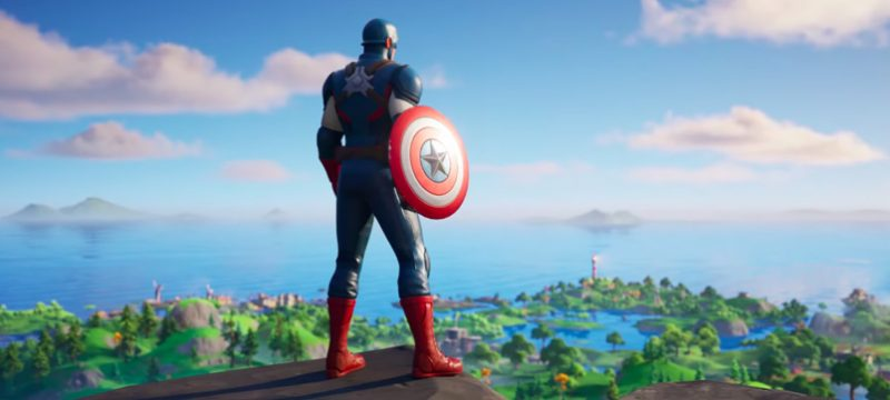 Fortnite Capitan America