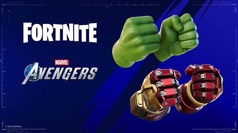 Los puños de Hulk y Hulkbuster estarán disponibles en Fortnite