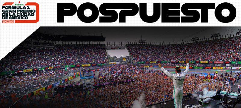 GP Mexico 2020 pospuesto