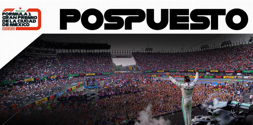 Se pospone el Gran Premio de la Ciudad de México 2020