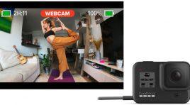 ¿Cómo usar la GoPro HERO8 Black como una cámara web?