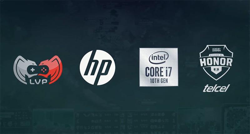 Liga de Videojuegos Profesional México con apoyo de HP e Intel