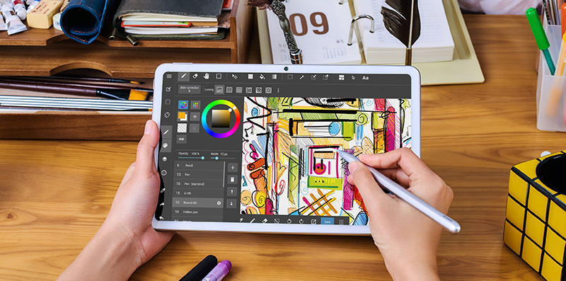 Huawei MatePad dibujo