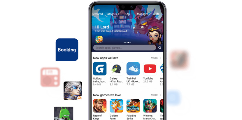 Huawei Mobile Services AppGallery