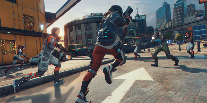 Conoce Hyper Scape, el nuevo Battle Royale de Ubisoft