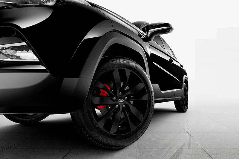 JAC Sei4 Black Series 2021 calipers