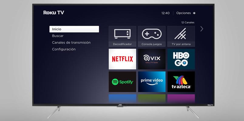 Los nuevos televisores JVC Roku TV ya están en México
