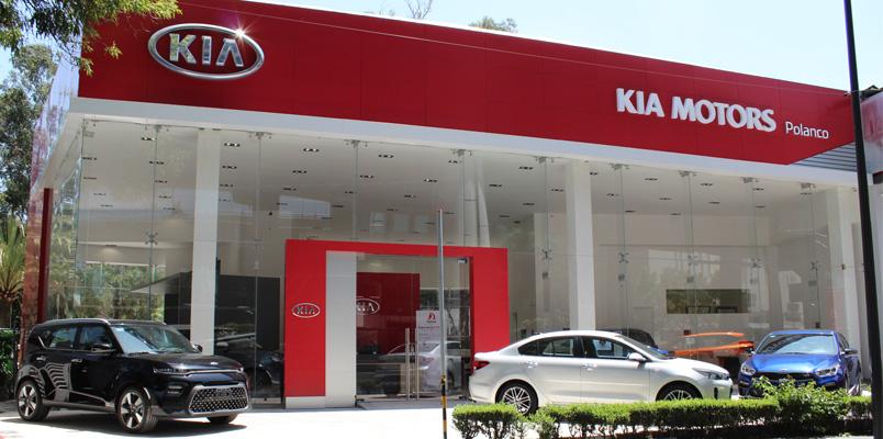 KIA Motors México abre su primer showroom en Ciudad de México