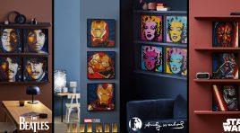 LEGO Art vende cuadros de Iron Man, Star Wars y The Beatles