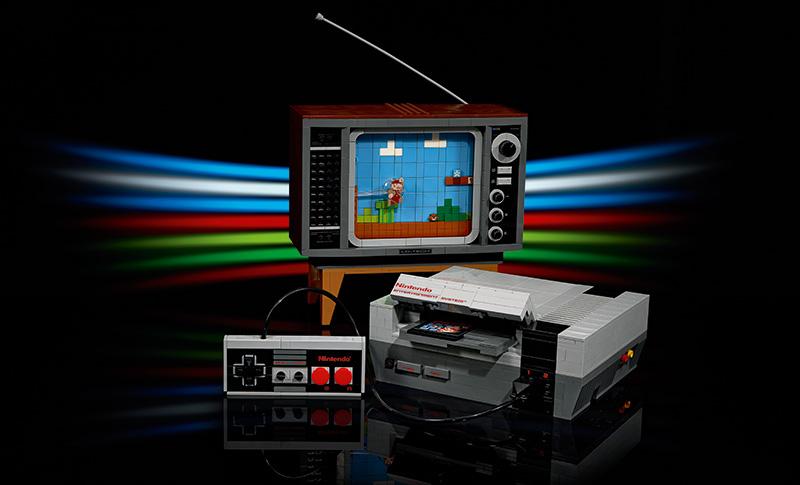 LEGO Nintendo Entertainment System 2020 consola