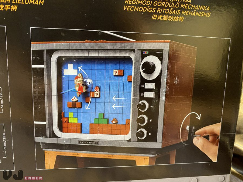 LEGO Nintendo Entertainment System filtrado tele