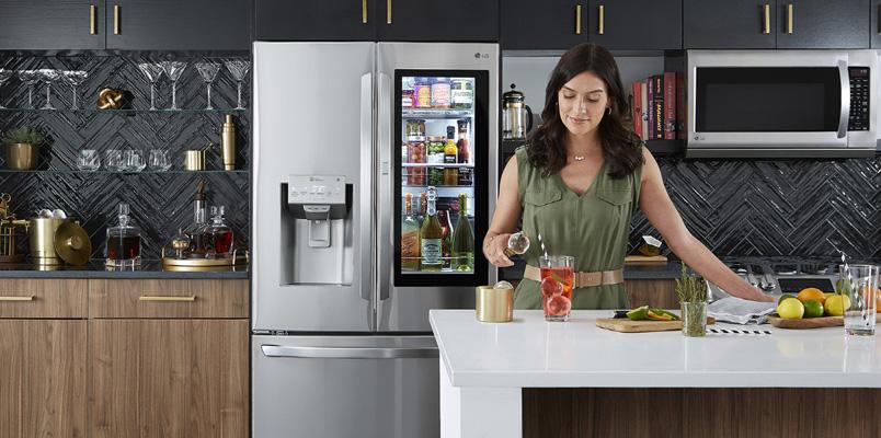 Un millón de refrigeradores InstaView Door-in-Door de LG en el mundo