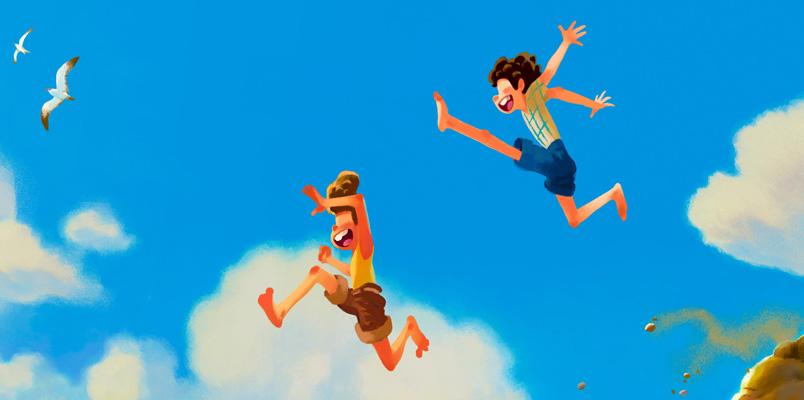 LUCA Pixar 2021 pelicula