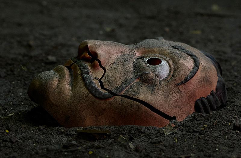 La casa de Papel ultima parte Mascara