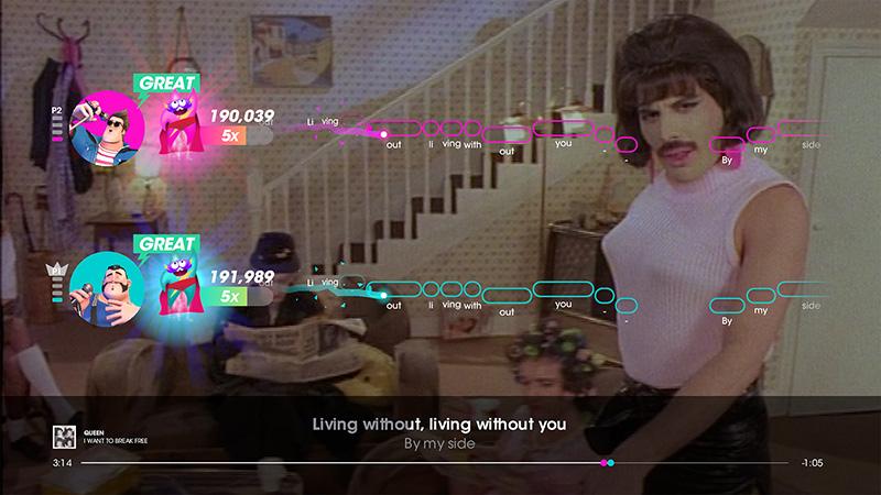 Canta las mejores 30 canciones de Queen en Let's Sing