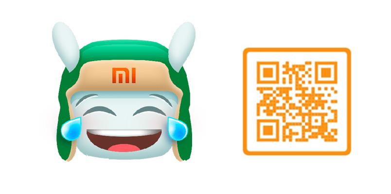 Mi Bunny Stickers Xiaomi