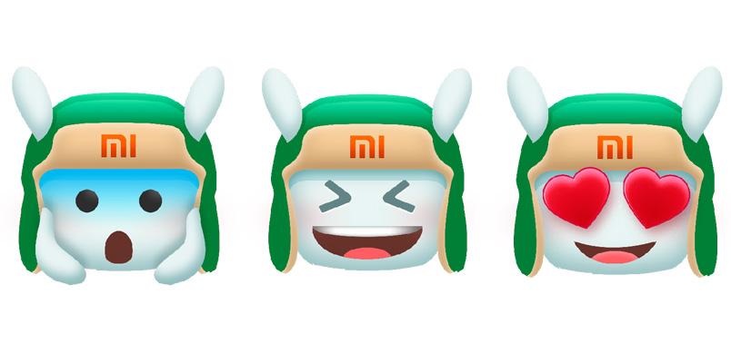 Celebra el día del Emoji con los stickers de Mi Bunny de Xiaomi