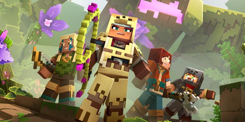 Este es el contenido gratuito que llega a Minecraft Dungeons