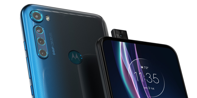 Motorola One Fusion Plus camaras