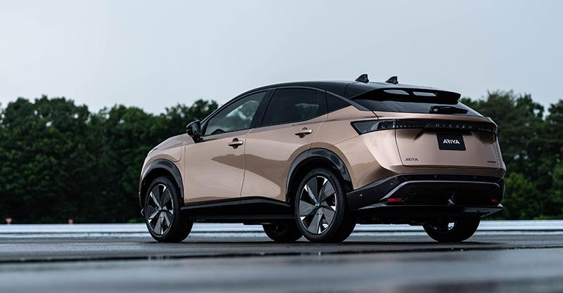 Nissan Ariya primer SUV electrico