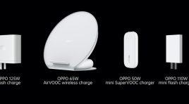 Conoce las tecnologías de carga ultra rápida de OPPO: hasta 125W
