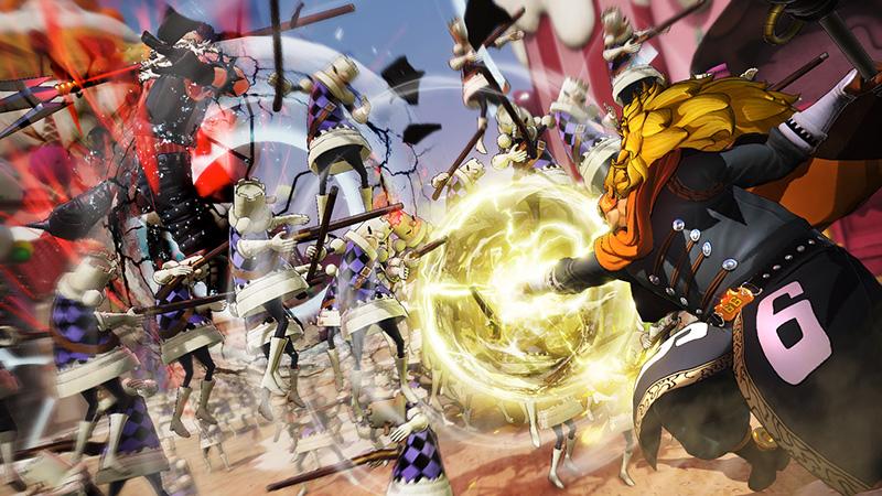 One Piece Pirate Warriors 4 Vinsmoke Judge