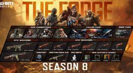 Precio del Pase de Batalla de la Temporada 8: La Forja de CoD Mobile