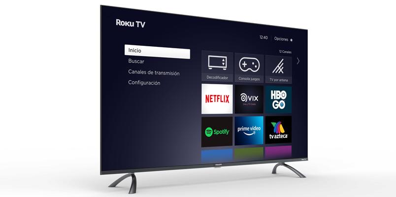 Estos son los nuevos televisores Philips Roku TV que llegan a México