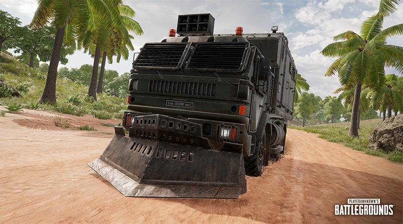 Sanhok Loot Truck
