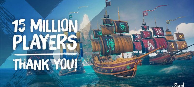 Sea of Thieves 15 millones