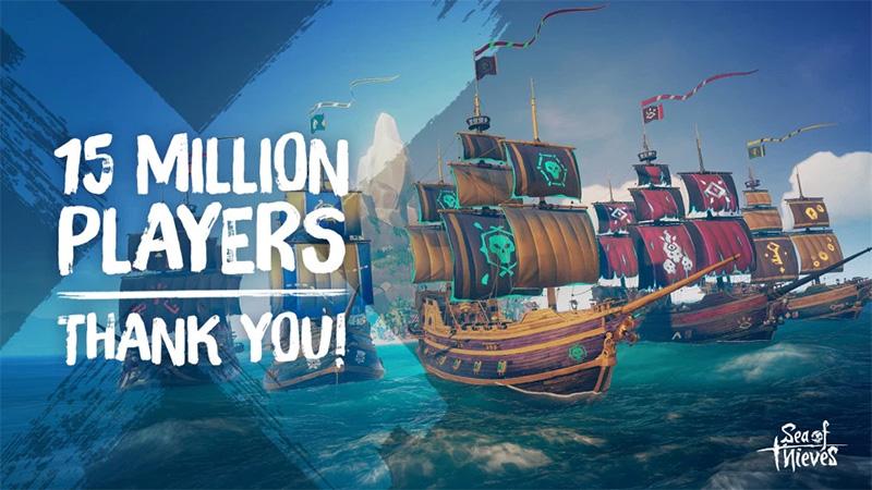 Sea of Thieves ya supera los 15 millones de jugadores en el mundo